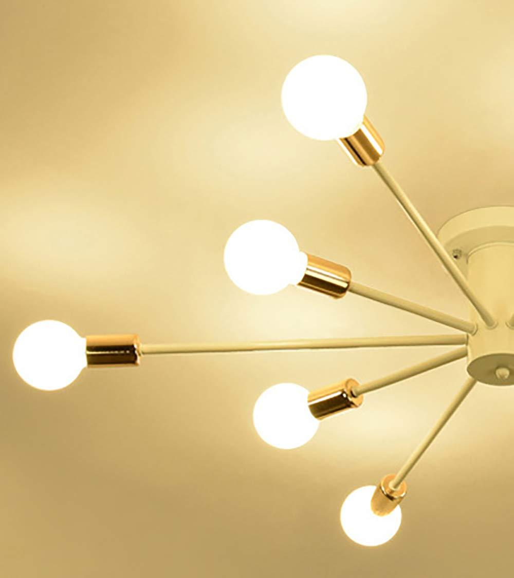 Amazon.com: FEE-ZC Sputnik lámpara de araña, moderno 10 ...