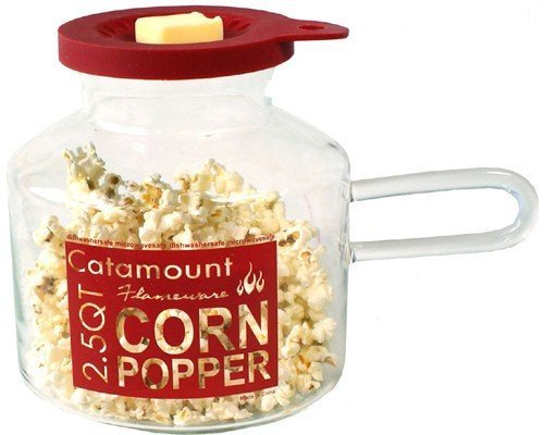 Glassware Classic Design Microwave Corn Popper