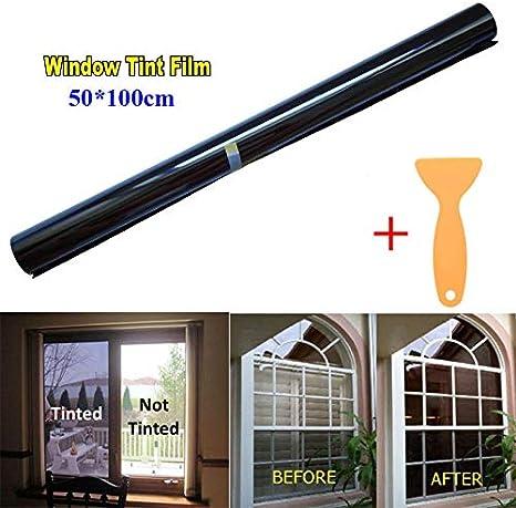 Took09 Uncut Window Tint Roll 5/% VLT Home Commercial Office Auto Film 50x600cm