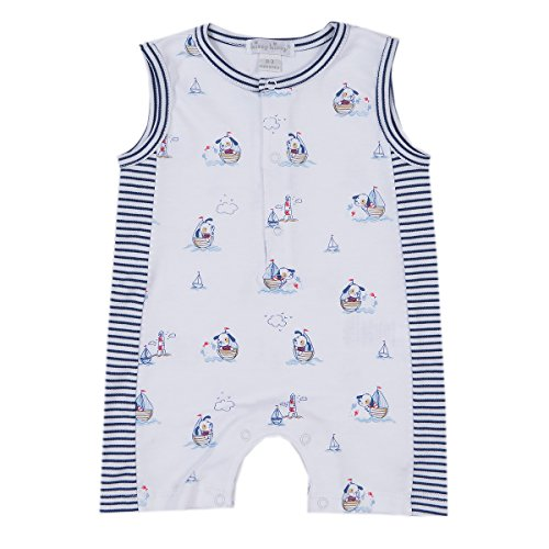 Kissy Kissy Baby-Boys Infant Harbor Master Print Sleeveless Short Playsuit
