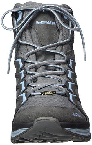 GTX Lowa Innox Women's Hellblau W Mid Grau Rise High Grey 9070 Boots Hiking r5ErBqw