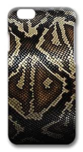 iPhone 6 Cases, Snake Skin Protective Snap-on Hard Case Back Cover Protector Slim Rugged Shell Case For iPhone 6 (4.7 inch)