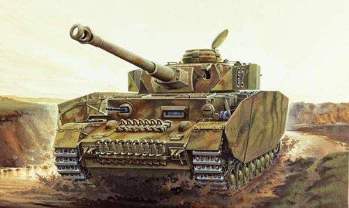 Italeri - I6486 - Maquette - Chars d'assaut - Panzer IV Ausf H - Echelle 1:35