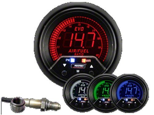 Prosport 60mm Premium EVO Wideband Digital Air Fuel Ratio Kit 238EVOAFRPK4.9-WO Prosport Performance