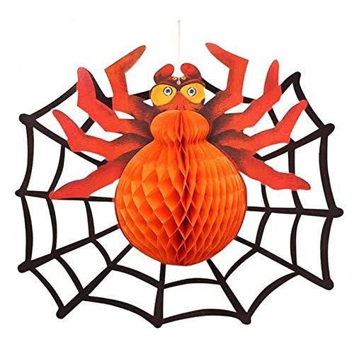 Party Diy Decorations - Halloween Paper Lantern Ghost Hanging Pumpkin Bat Spider Props Diy Accessory Spiderman - Party Decorations Party Decorations Figur Spiderman Spider Action Comic -