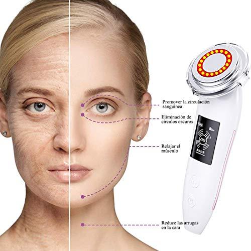 Strumento portatile di bellezza del viso per il sollevamento del viso, la rimozione delle rughe, la cura della pelle, la promozione efficace della crema e l\'assorbimento