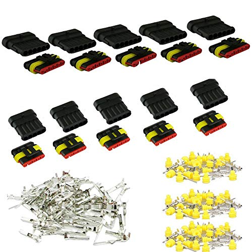 10 Kit Waterproof Car Electrical Wire Connector: Electronics