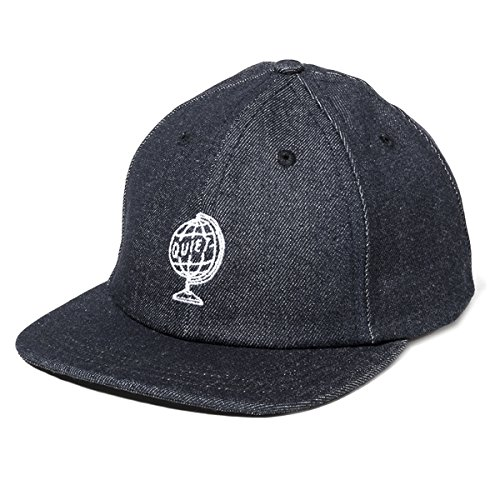 Quiet Life: World Globe Polo Hat - Black - Life Quiet Hat