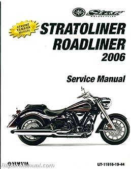 lit 11616 19 44 2006 yamaha xv19 stratoliner s midnight motorcycle rh amazon com yamaha stratoliner service manual yamaha stratoliner service manual