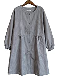 Kappogi (Coverall Apron) Made in Kurume JapanImportjapanese Clothes Size