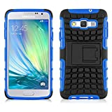 JAMMYLIZARD [ Samsung Galaxy A5 Case ] ALLIGATOR Heavy Duty Double Protection Rugged Back Cover, Blue