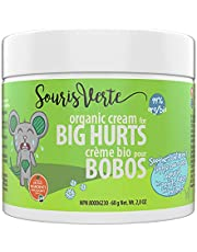 Souris Verte Organic Boo Boo Healing & Diaper Rash Cream – Made in Canada – Cloth Diaper Safe - Prevents, Protects and Treats - Enriched with Natural Soothing Ingredients