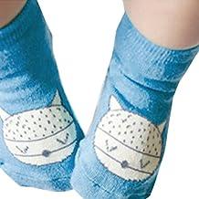 FEITONG® 2015 Lovely Baby Infant Toddler Kids Girls Boys Fox Anti-slip Socks