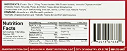 Quest Nutrition Natural Protein Bar, Strawberry Cheesecake, 12 Count