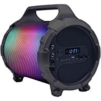 QFX PBX-9 On The Go Light & Sound Portable Party Speaker