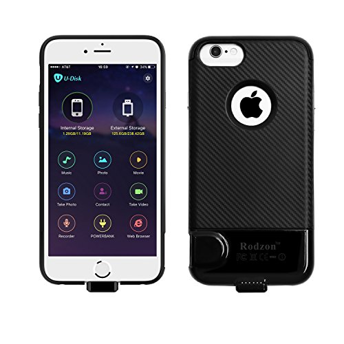 iPhone 6 6s 7 Case, Rodzon Wireless Memory Expansion Case Capacity Expansion...