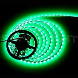 SUPERNIGHT® 16.4FT 5M SMD 5050 Waterproof 300LEDs Green Light Flexible LED ...