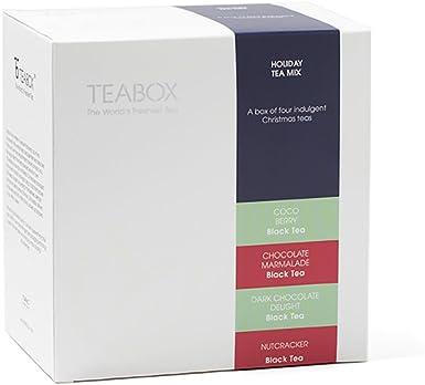 Pack Regalo de tés Teabox Holiday Christmas | Incluye mezclas de ...
