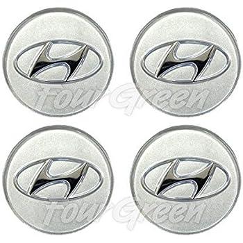 """52960 3K250 Genuine OEM Wheel Center Cap HUB 15,16,17/"""" 4pcs For 2009 2013 Hyunda"""