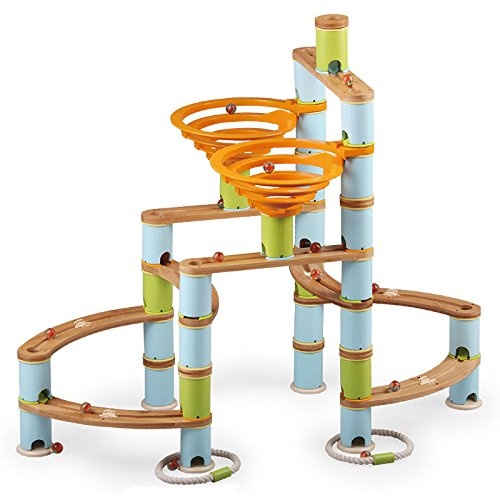 (Fat Brain Toys 168 pc Bamboo Builder Marble)
