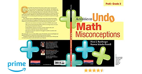 Activities to undo math misconceptions prek grade 2 honi j activities to undo math misconceptions prek grade 2 honi j bamberger karren schultz ferrell 9780325078304 amazon books fandeluxe Image collections