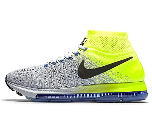 clearance online amazon hot sale for sale Nike Women's Zoom All Out Flyknit Running Shoes Wolf Grey/Black - Volt discount wholesale price classic cheap online xRohDcX
