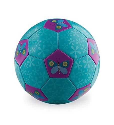 Crocodile Creek Butterflies Kids Soccer Ball Size 2 Kids Soccer Ball -
