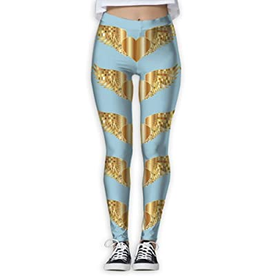 VDSFEE1DR Heart Valentine's Day Women's Printed Yoga Pants