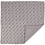 Pro Tec MF1212 12 X 12 Inches Microfiber Polishing Cloth Gray/Black