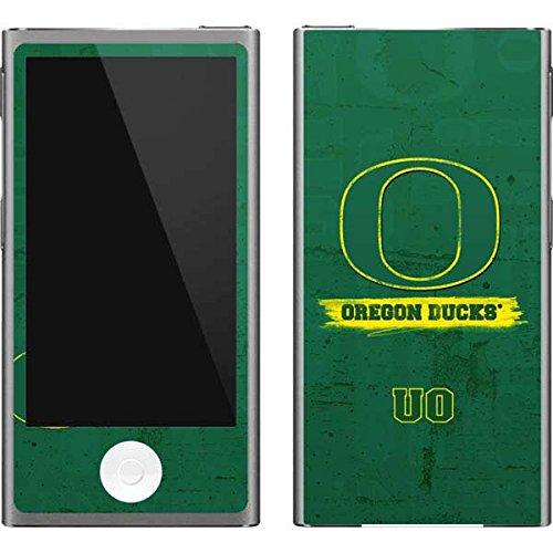 (Skinit University of Oregon iPod Nano (7th Gen&2012) Skin - Oregon Distressed Design - Ultra Thin, Lightweight Vinyl Decal Protection)