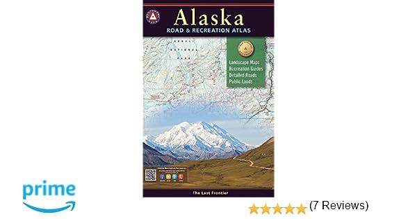 Alaska benchmark road recreation atlas national geographic maps alaska benchmark road recreation atlas national geographic maps 9780929591148 amazon books sciox Images