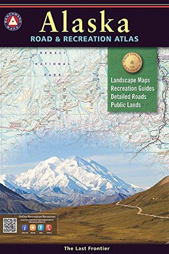 Alaska Benchmark Road & Recreation Atlas (Best Alaska Road Trip)