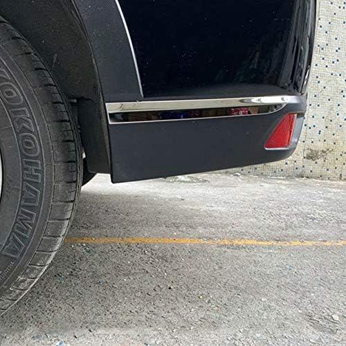 ABS Edelstahl Auto vorne//hinten Sto/ßstange Eckabdeckung Verkleidungsschutz Zubeh/ör HKPKYK F/ür Subaru Forester SK 2019