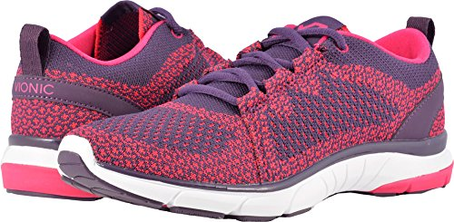 Vionic Womens Flex Sierra Lace Up Dark Purple Pink Size 9 by Vionic
