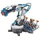 Elenco Teach Tech HydroBot Arm Kit  | Hydraulic Robot Arm Kit | STEM Educational Toys for Kids 12+