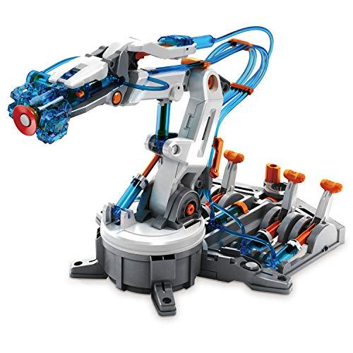 "51ujthDc1OL - Elenco Teach Tech ""Mech-5"", Programmable Mechanical Robot Coding Kit, STEM Building Toy for Kids 10+"
