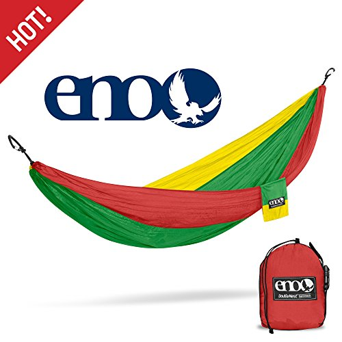 ENO - Eagles Nest Outfitters DoubleNest Hammock, Portable Hammock for Two, Rasta for $<!--$41.91-->