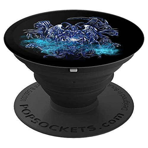 Baphomet Satanist Goat & Skeleton King Demon Witchcraft - PopSockets Grip and Stand for Phones and ()