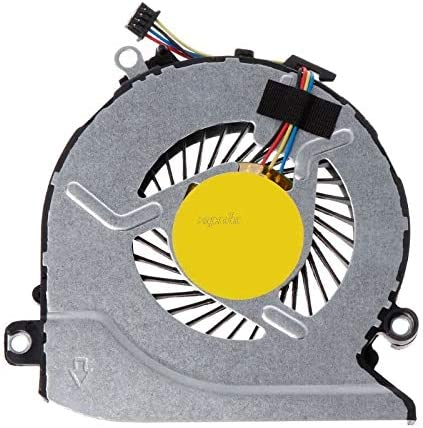 TD-ELECTRO ORG Cooling Fan Laptop CPU Cooler Computer Replacement 4 Pins Wires Connector 812109-001 for HP Pavilion 15Z-A 15-AB 17-G 17-G01