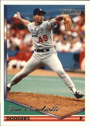 (1994 Topps Gold Baseball Card #211 Tom Candiotti Near Mint/Mint)