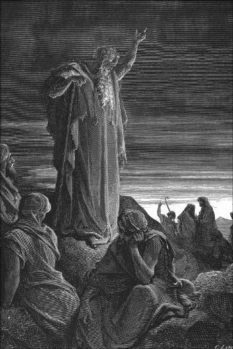 20x30 Poster; The Prophet Ezekiel  From Gustave Dore English