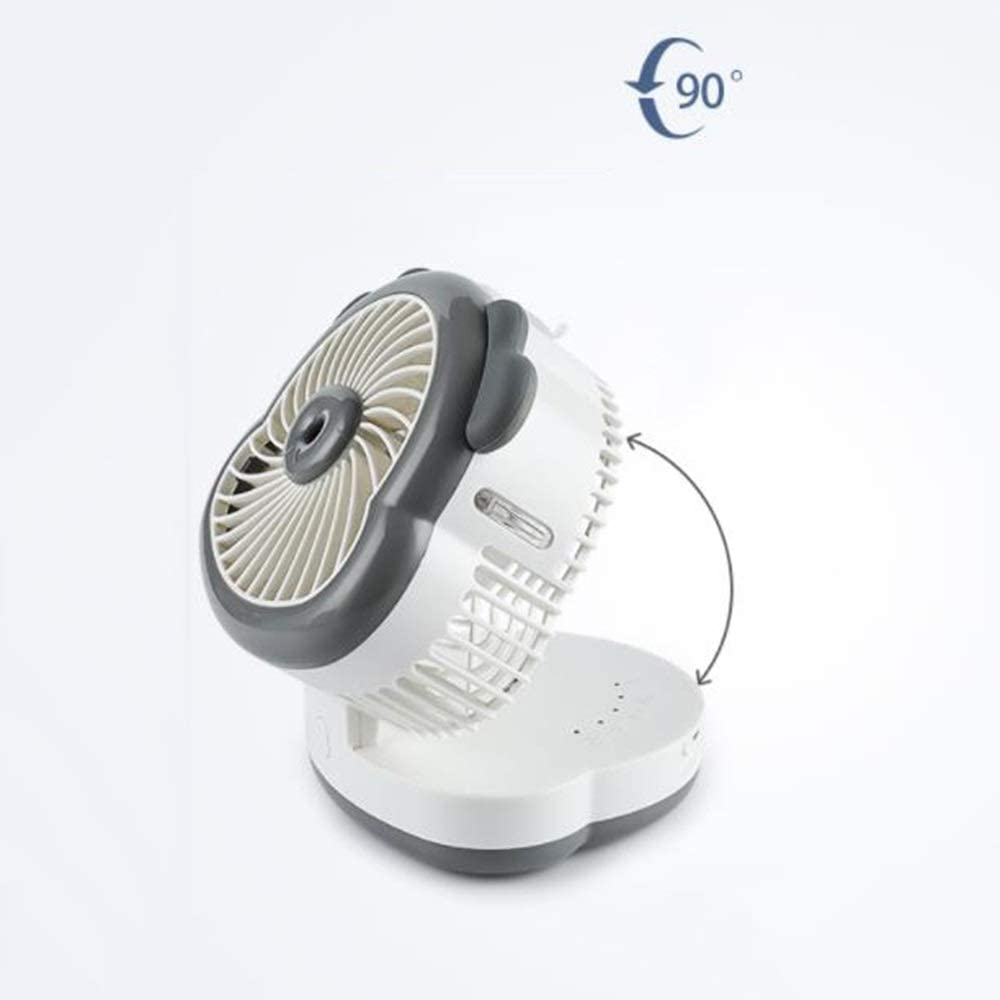 Portable Small Silent Fan On Student Dormitory Bed LMMNFS USB Mini Fan Cool and Cool Study Small Desktop Fan Etc Kitchen Suitable for Desk Portable Fan Rechargeable Humidifier