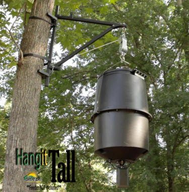 Great Day Hangit Tall Portable Feeder//Game Hanger 250 lbs wt PFH250