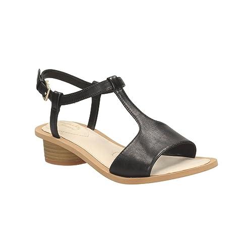 d9c43e273 Clarks CLA Sandcastle Ice Black Leather 9.0 D  Amazon.co.uk  Shoes ...