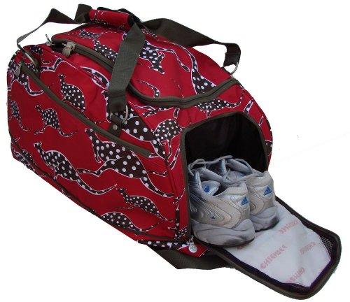 4406dd9a263d7 Chiemsee Sportbag Medium Sporttasche Farbe  rot-Känguruh  Amazon.de  Sport    Freizeit