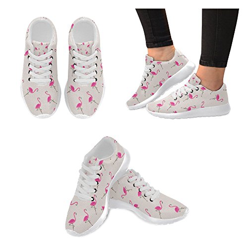 Scarpa Da Jogging Leggera Da Donna Running Jogging Leggera Andare A Piedi Comode Scarpe Sportive Da Flamingo