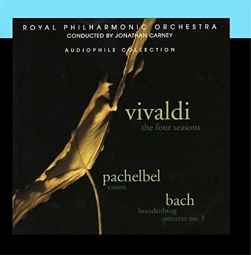 Price comparison product image Vivaldi: The Four Seasons - Pachelbel: Canon - Bach: Brandenburg Concerto No. 3