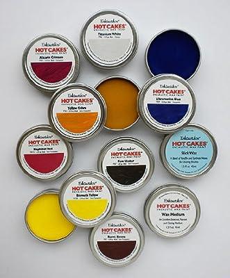 Encaustic Wax Paint Set- Academy Hot Cakes Set