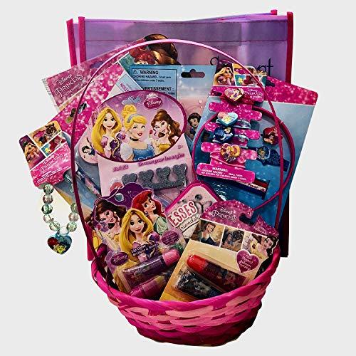 Disney Princess Baby/Toddler Girls Complete Easter Toys Gift Basket (20 -