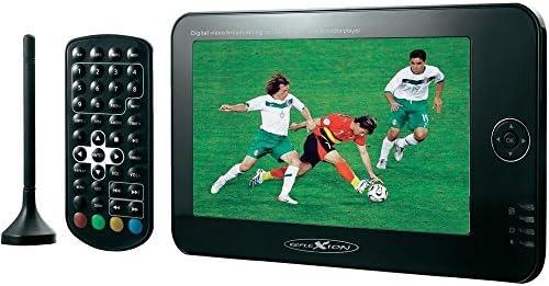 Reflexion Tragbarer televisor 17.5 cm 7 Zoll LED0714DV Akkubetrieb, incl. DVB-T antena negro: Amazon.es: Electrónica